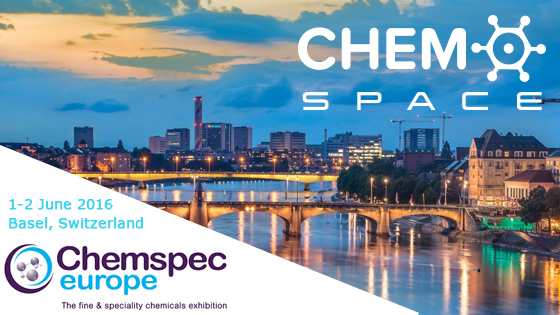 Find Chemspace at Chemspec Europe 2016 | Chemspace